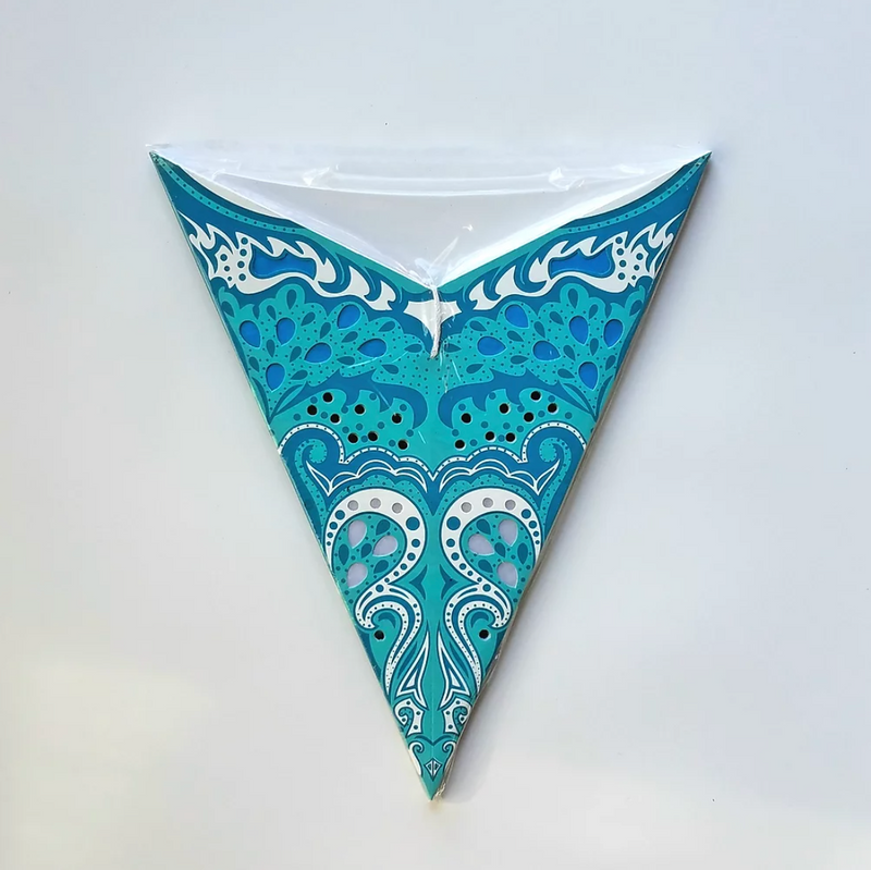 Star Lantern in Teal Wave