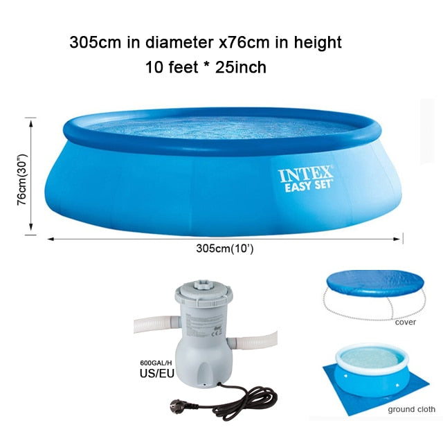 Summer Swim™ - Family Pool Set With Filter Pump