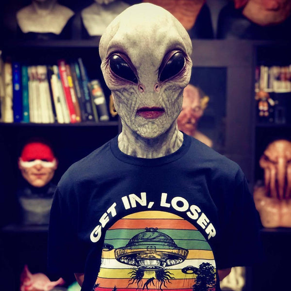 Space Alien - Scary Halloween Alien Mask