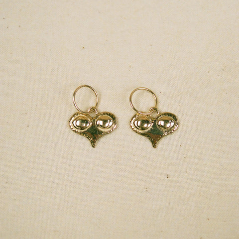 Sumerian eyes earrings