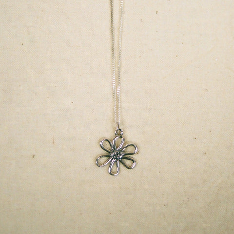 Flower of Life charm necklace
