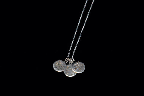 Three Medallions // necklace