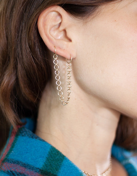 Vassiouta Chain Earring (Single)