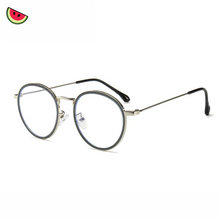 Load image into Gallery viewer, Anti-blue Light Glasses by Melonish silver color