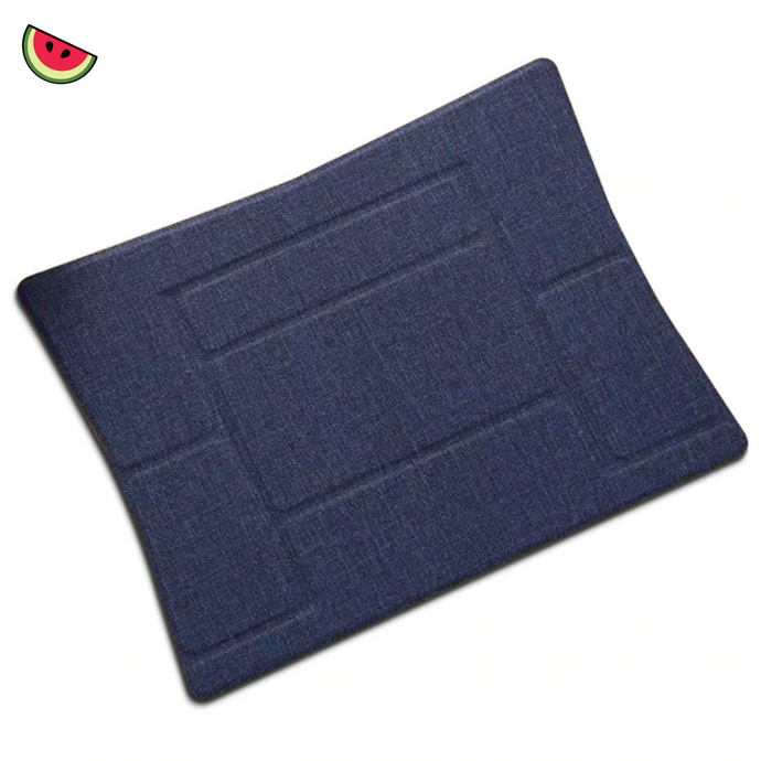 Invisible, Foldable, Portable, Universal Laptop Stand - Melonish Blue