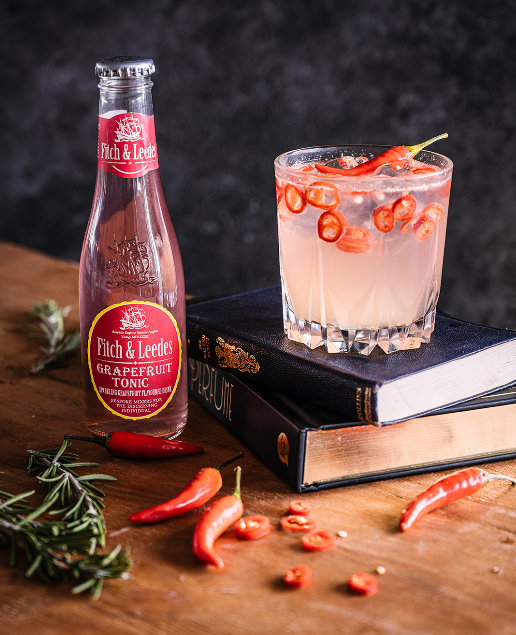 Gin, Chili & Grapefruit Tonic