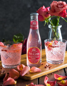 Gin, Rose, Pink Peppercorn and Grapefruit Tonic