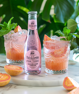 Vodka or Gin Pink Guava Spritz
