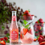 Fitch & Leedes Grapefruit Premium Tonic Water with Strawberries and Basil