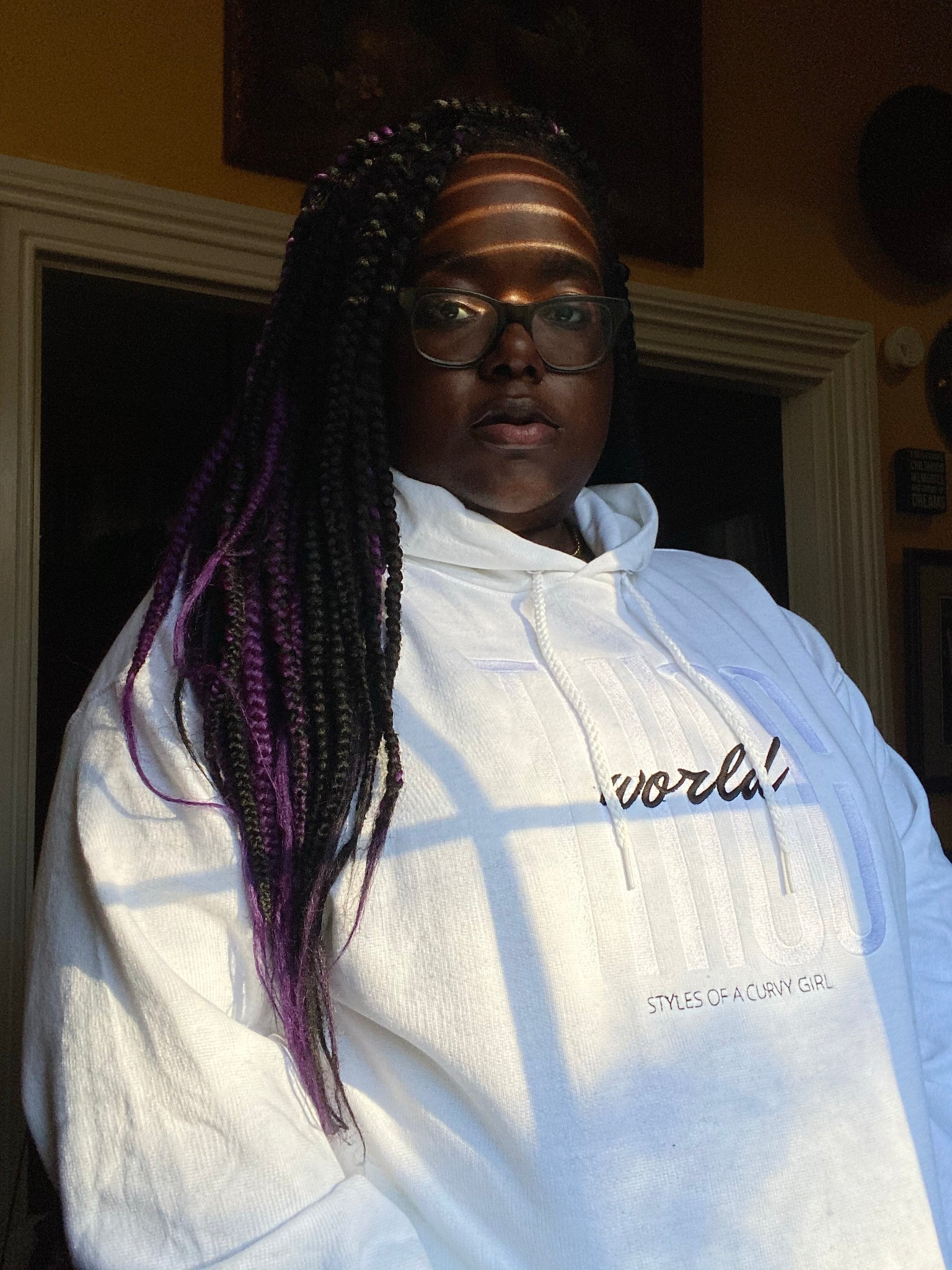Icy Thicc World Hoodie