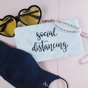 Social distance in style with our mask accessories to keep you safe and stylish.