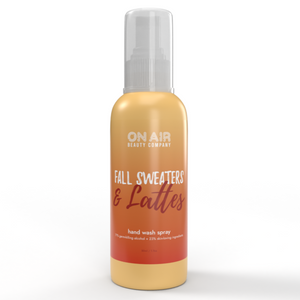 Fall Sweaters & Lattes Hand Wash Spray