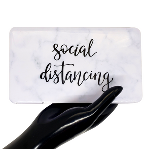 Social Distancing Mask Case for clean and safe mask storage.