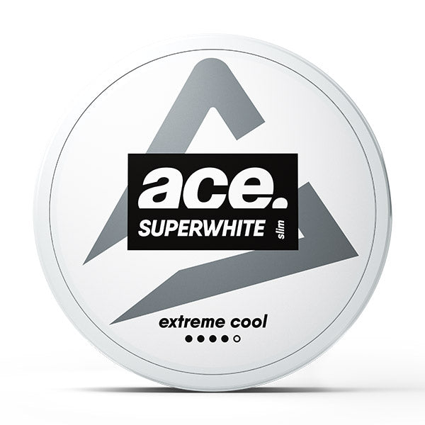 Ace Superwhite Extreme Cool Slim - pouchlyfe - Nicotine Pouches - Australia & New Zealand