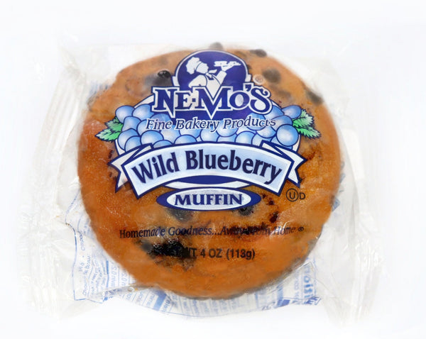 Wild Blueberry Muffin - 12 Pack