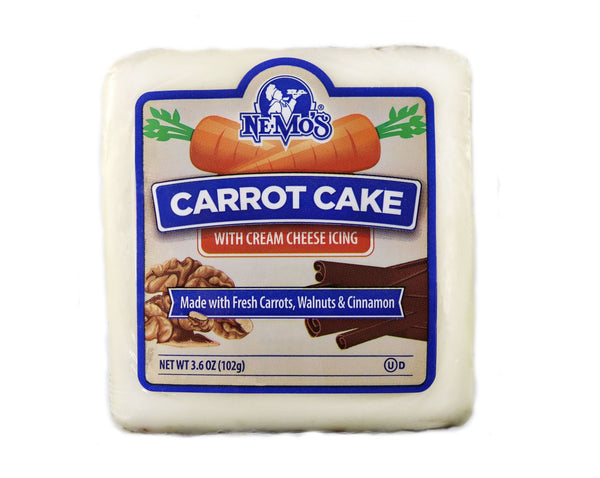 Carrot Cake Square - 36 Pack