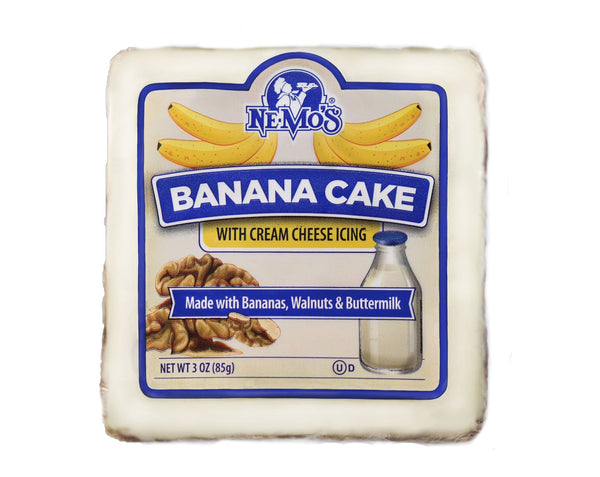 Banana Cake Square - 36 Pack