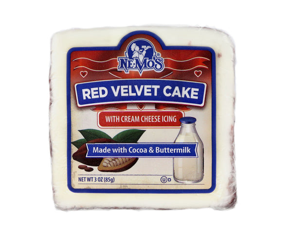 Red Velvet Cake Square - 36 Pack