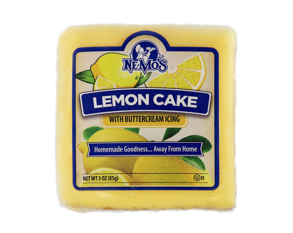 Lemon Cake Square - 36 Pack