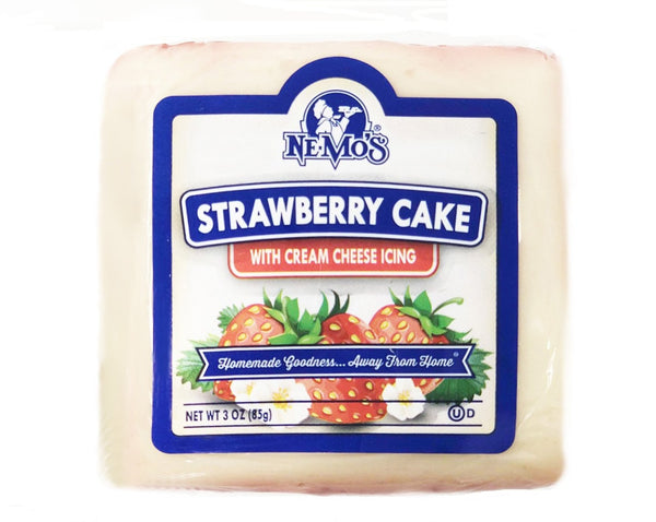 Strawberry Cake Square - 36 Pack