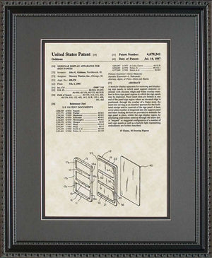 Frame My Patent, One-Opening