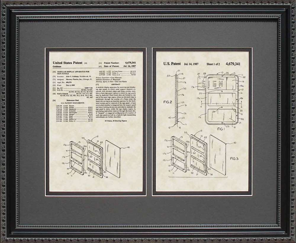 Frame My Patent, Two-Opening