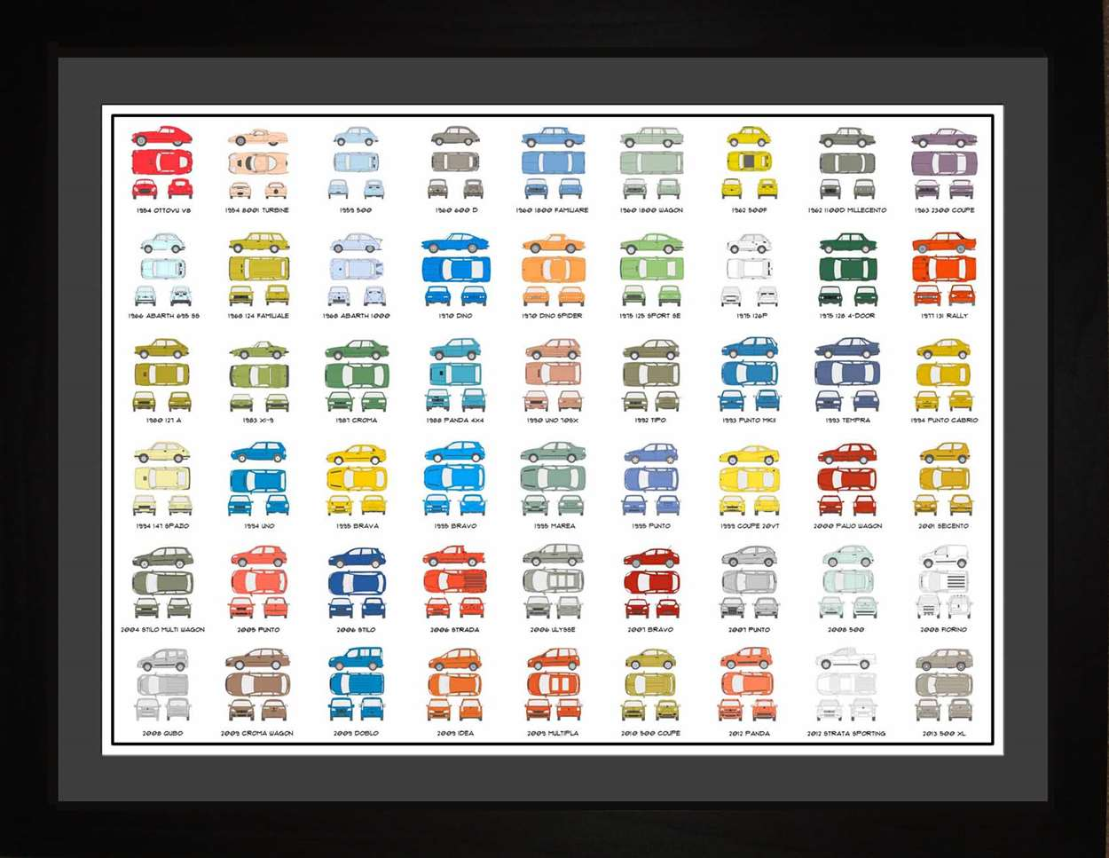 Fiat Auto Collection, 18x24