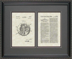 Satellite Patent, Art & Copy, Bauman, 1958, 16x20