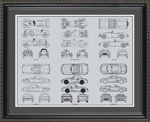MG Blueprint Collection, 20x24