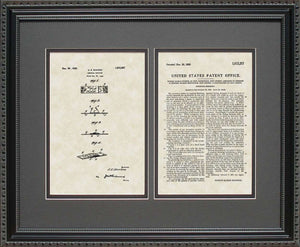 Band-Aid Bandage Patent, Art & Copy, Dickson, 1926, 16x20
