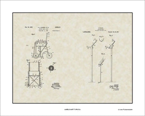 Wheelchair & Crutch Patents, 16x20