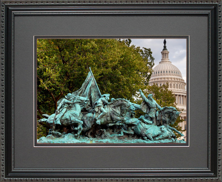 Calvary Charge Civil War National Monument , 16x20