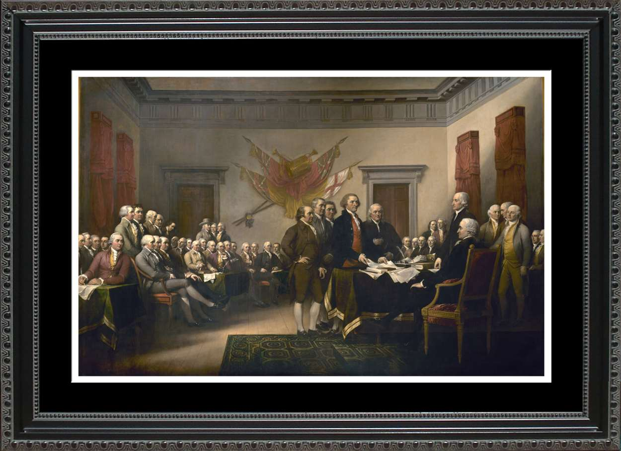 Signing of the Declaration of Independence, 14x20