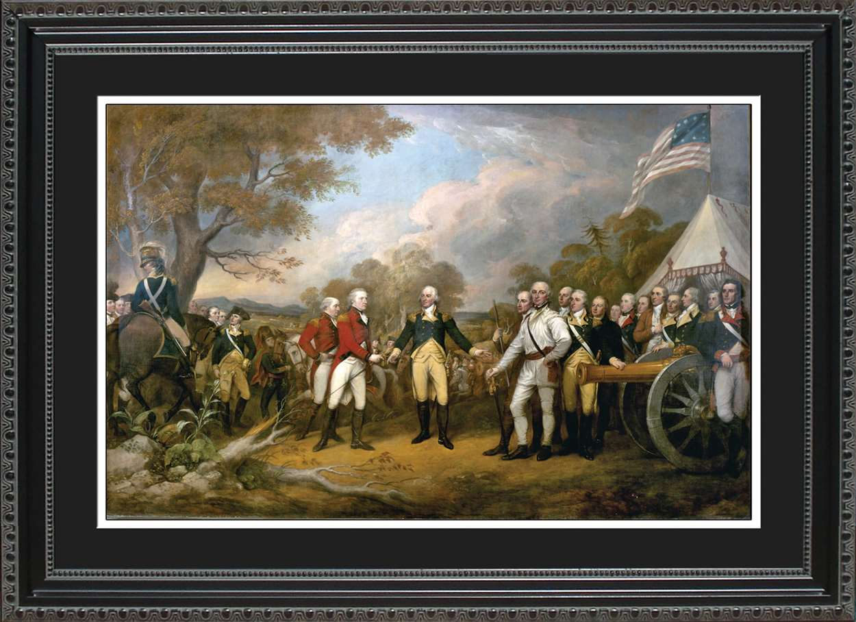Surrender of General Burgoyne, 14x20