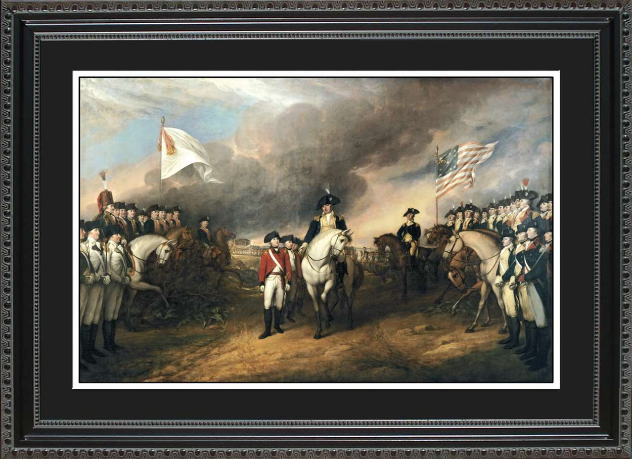 Surrender of Lord Cornwallis, 14x20