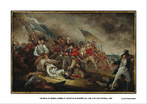 Death of General Warren at Bunker Hill, 14x20