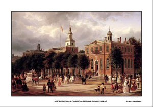 Independence Hall, 14x20