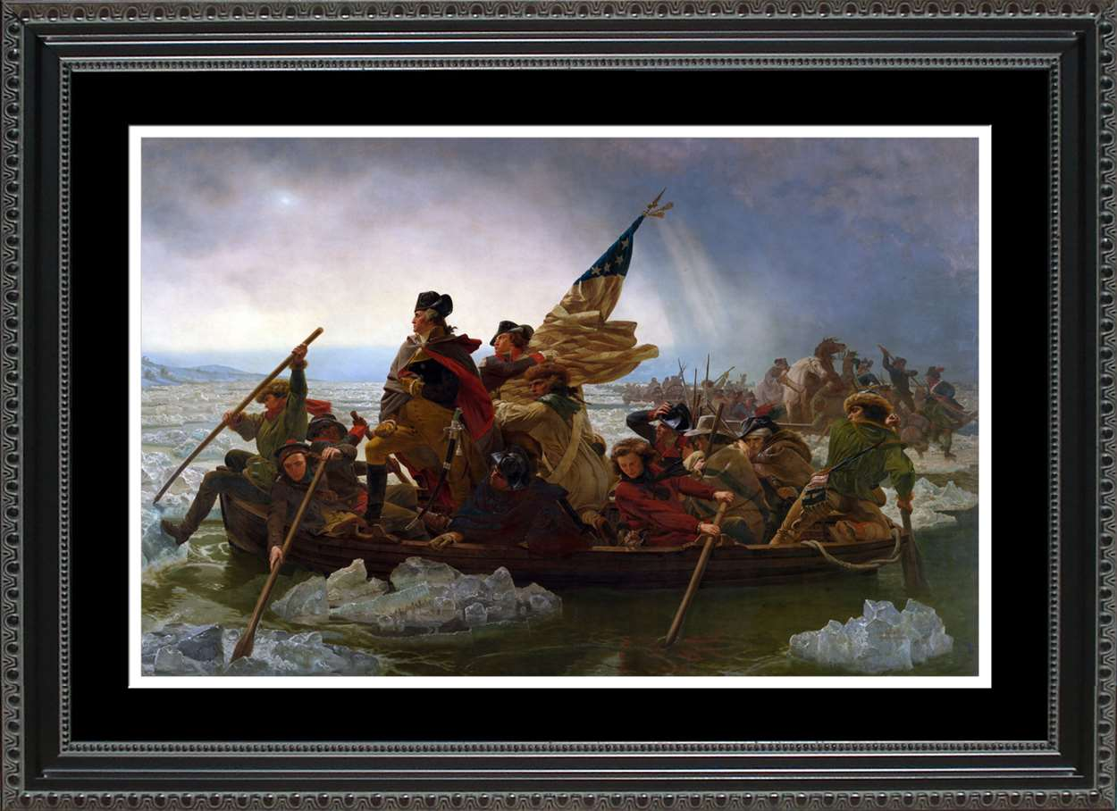 Washington Crossing the Delaware, 14x20
