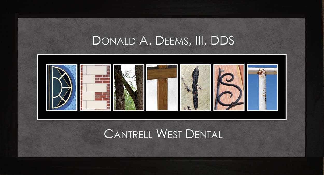 DENTIST Alphabet Photography Letter Art, 10x20