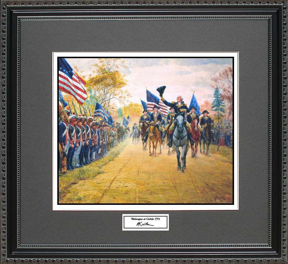 Washington at Carlisle 1794, Mort Kunstler, 18x16