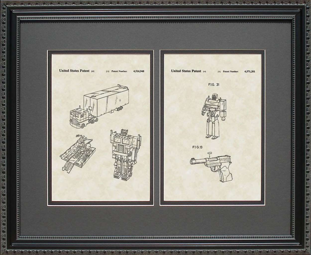 Transformers Patents, 16x20