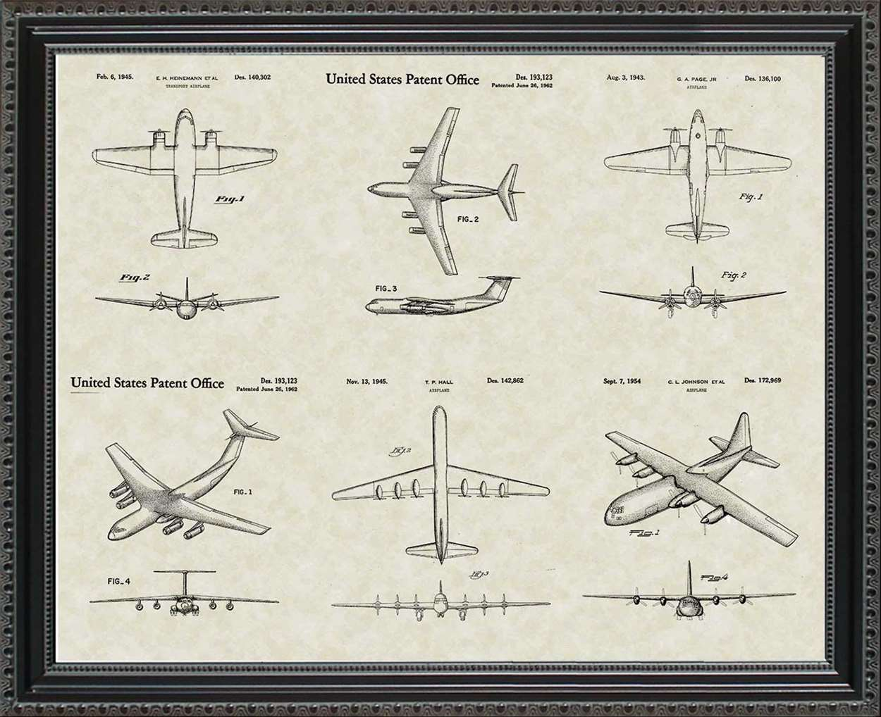 Cargo Aircraft Patents, 20x24