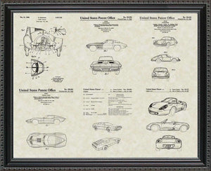 Sports Cars Patents, 20x24