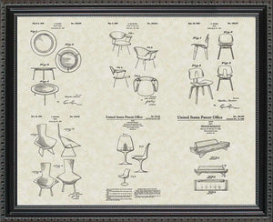 Modern Chairs Patents, 20x24