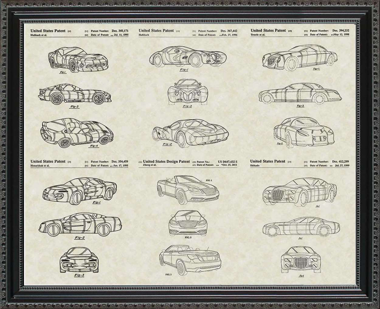 Chrysler Patents, 20x24