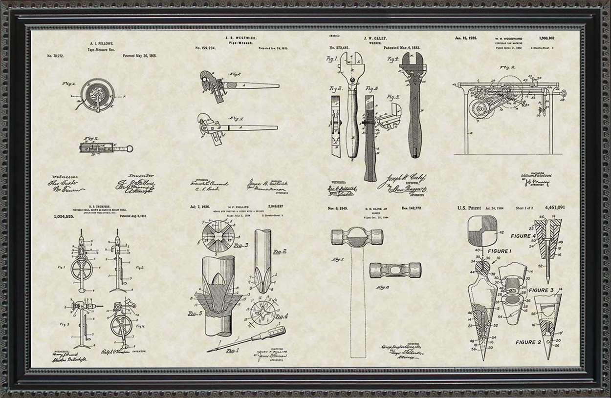Construction Tool Patents, 20x30
