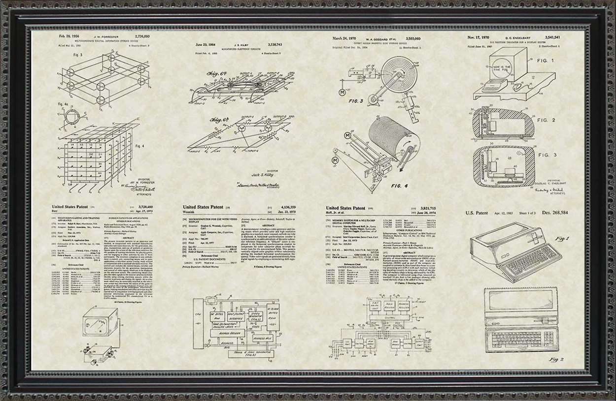 Computer & Technology Patents, 20x30