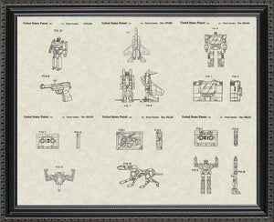 Transformers Decepticon Patents, 20x24