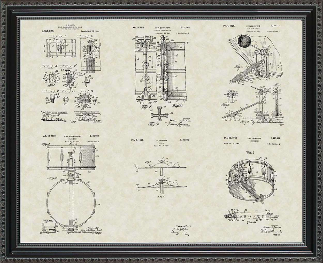 Drum Patents, 20x24