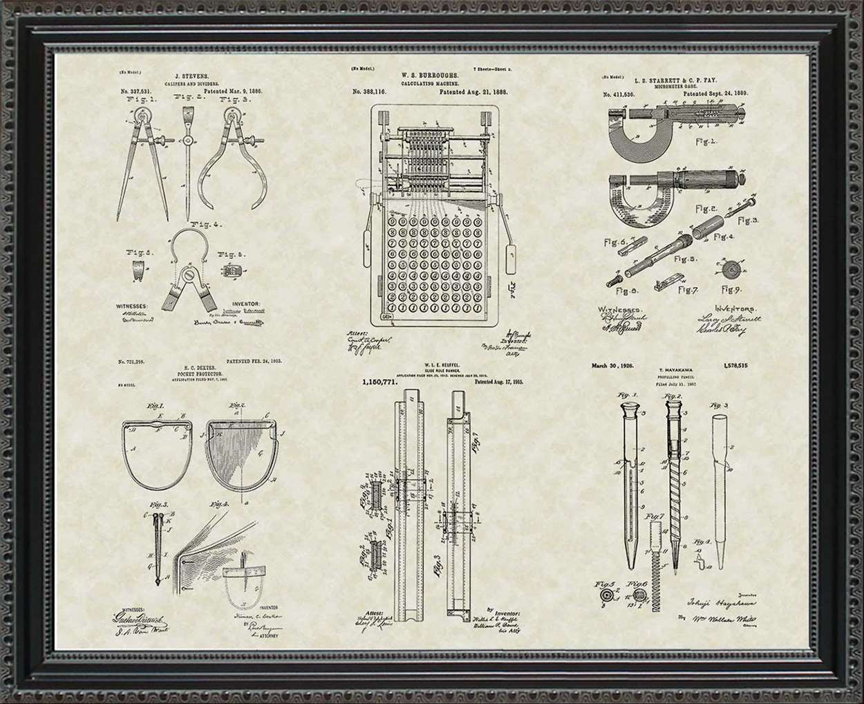 Engineering Tool Patents, 20x24